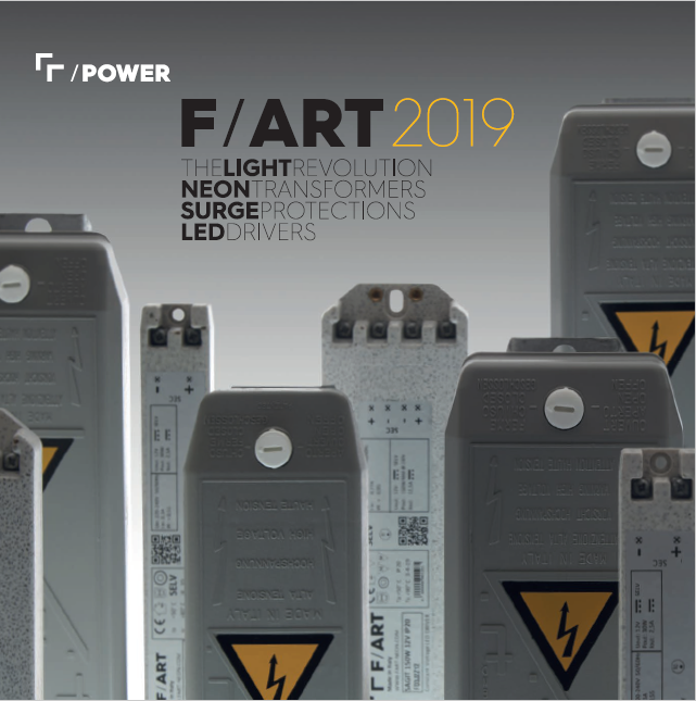 Immagine di  F/ART catalogo /POWER 2019