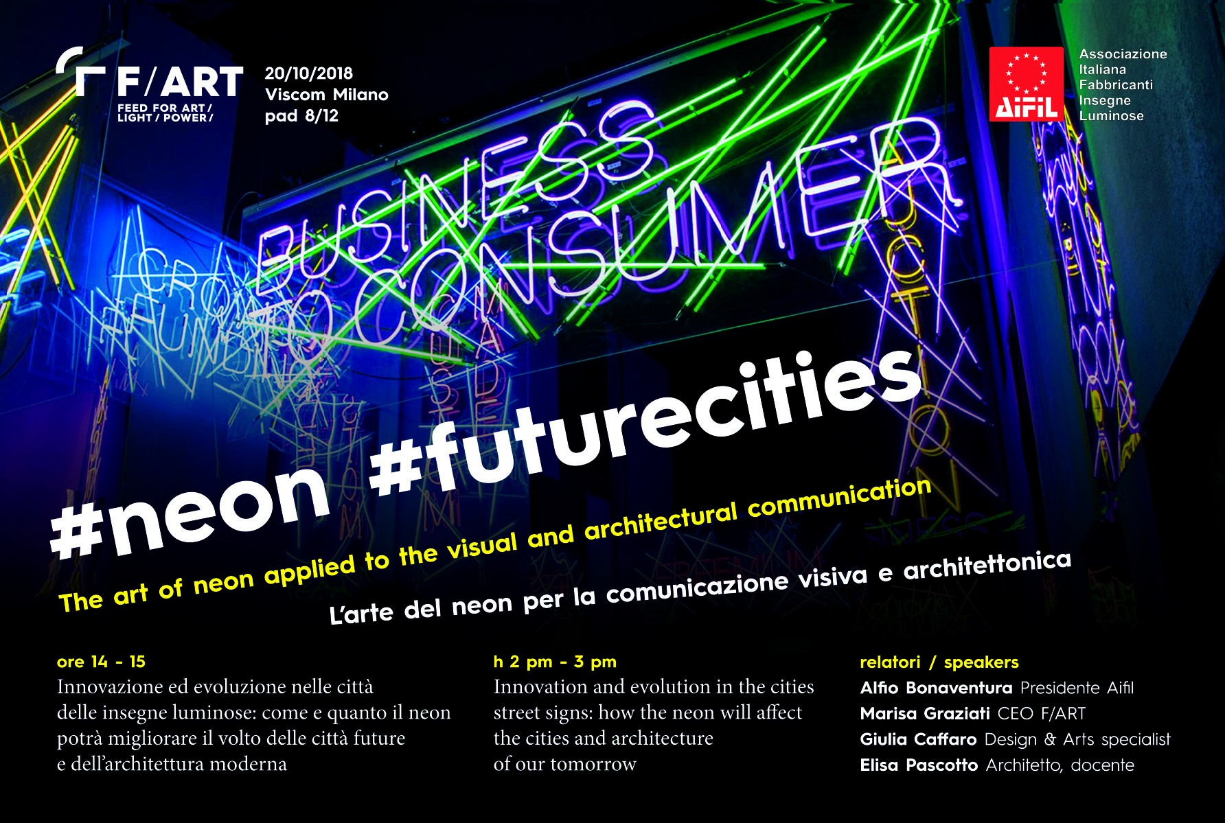 Immagine di  Viscom Talks: Neon Futurecities