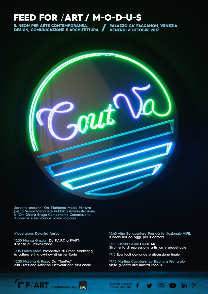 Image of  The neon for contemporary art: design, communication and architecture