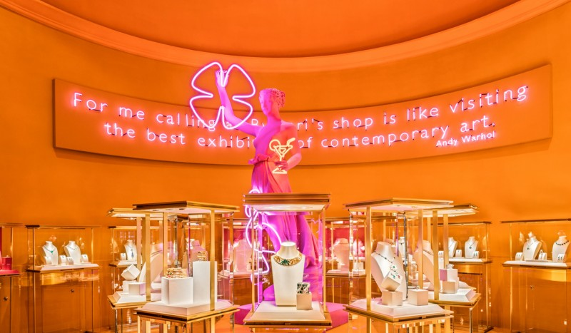 Immagine di  Bvlgari Wild Pop Showroom, Roma