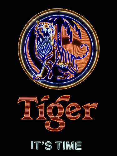 Immagine di  Tiger Beer Sign, Singapore 1